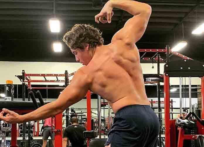 Arnold Schwarzenegger's Son Joseph Baena Recreates Dad's Body