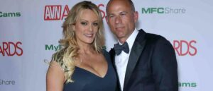 Caption : 2019 AVN Awards Red Carpet Arrivals at The Joint Inside The Hard Rock Hotel and Casino PersonInImage : Stormy Daniels,Michael Avenatti Credit : Judy Eddy/WENN.com