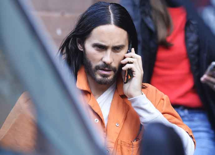 Jared Leto Morbius >> Jared Leto Goes In Costume On Set Of Spider Man Spinoff