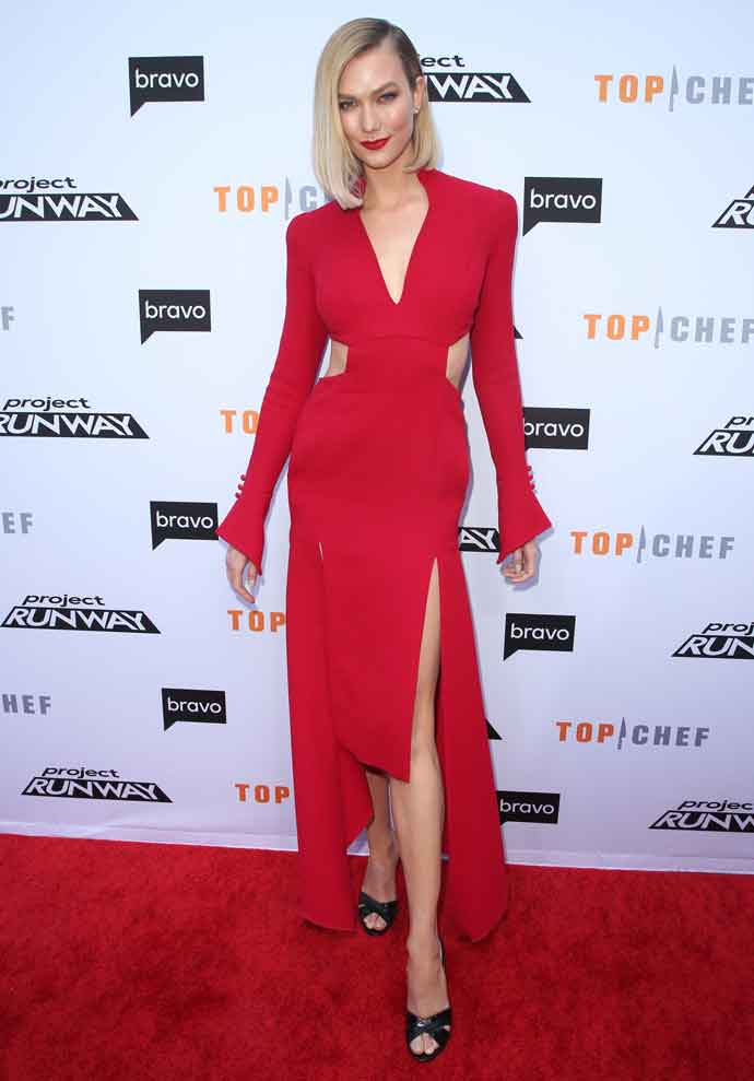 Karlie Kloss Glows On Red Carpet At Bravo's 'Night Of Food And Fashion' FYC Event
