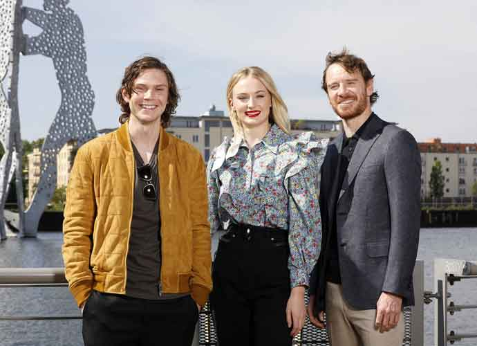 Sophie Turner, Michael Fassbender & Evan Peters Attend Berlin Photocall For 'X-Men: Dark Pheonix'
