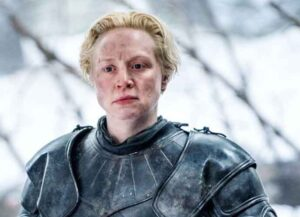 Gwendoline Christie as Brienne of Tarth on Game Of Thrones (Image: HBO)