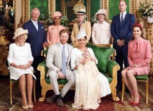 Prince Harry & Meghan Markle Release Photos Of Son Archie's Christening