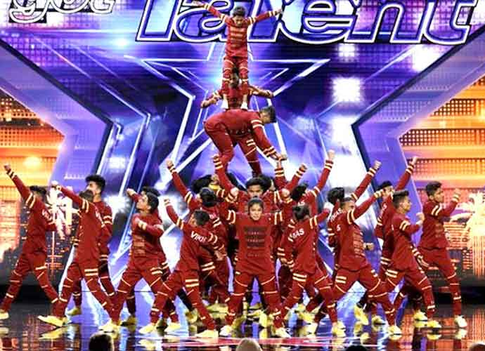 V Unbeatable Acrobatic Troupe From India Gets Golden Buzzer On