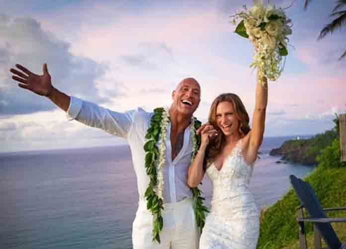 Dwayne 'The Rock' Johnson Marries Longtime Girlfriend Lauren Hashian [PHOTOS]