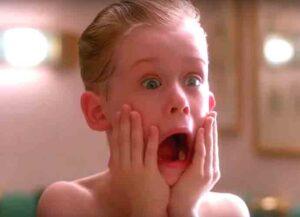 Macaulay Culkin as Kevin McCallister in Home Alone (Image: Getty)
