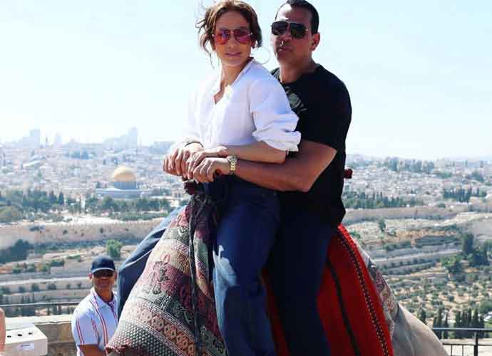 Jennifer Lopez & Alex Rodriguez Take A Family Vacation In Israel