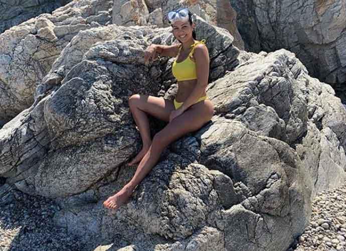 Kourtney Kardashian Shows Off Her Bikini Collection In Italy