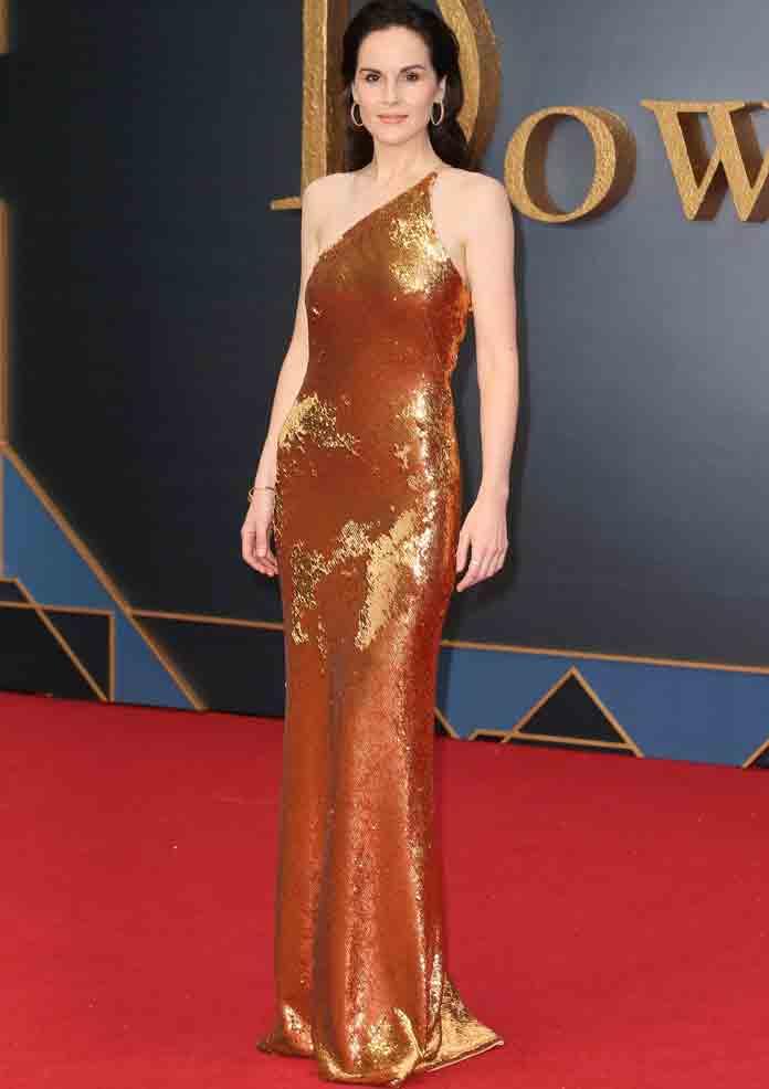 Michelle Dockery Attends World Premiere Of 'Downton Abbey' Movie In London