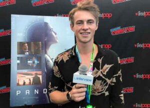 VIDEO EXCLUSIVE: Ben Radcliffe Isn't Afraid Of Injuries From Fights & Stunts On 'Pandora'