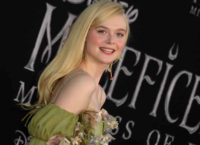 Elle Fanning Channeled Her Character At The Maleficent
