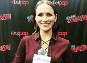 New York Comic-Con VIDEO EXCLUSIVE: Shantel VanSanten On Marriage To Joel Kinnaman In 'For All Mankind'