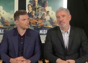 VIDEO EXCLUSIVE: Ed Skrein, Luke Kleintank & Roland Emmerich Explain How They Made 'Midway' Look 'Absolutely Real'