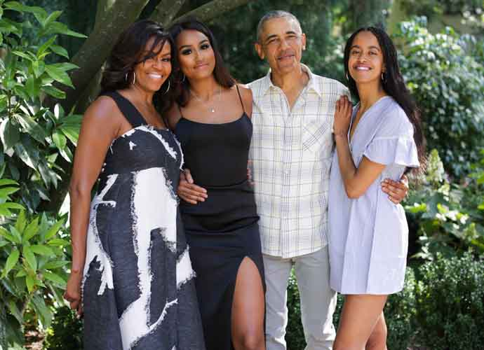 Sasha & Malia Obama Secretly Joined BLM Protests, According To Dad, President Obama