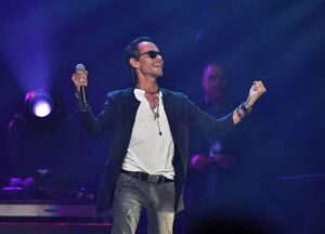 """ATLANTA, GEORGIA - OCTOBER 25: Marc Anthony performs onstage during his """"Opus"""" tour at State Farm Arena on October 25, 2019 in Atlanta, Georgia. (Image: Getty)"""