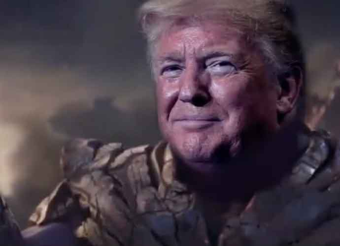 Donald Trump Appears As 'Avengers' Thanos In Campaign Video: 'I'm Inevitable'