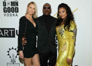 Eddie Murphy & Girlfriend Paige Butcher Attend His Daughter Bria Murphy's Art Opening (Image: Getty)