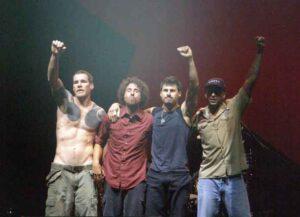 Rage Against the Machine in 2008 (Image: Wikimedia)