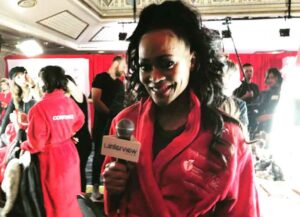 VIDEO EXCLUSIVE: Robin Givens Worried Her Dress Was Too Tight At Go Red For Women Fashion Show