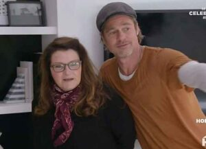 Brad Pitt Helps Build New Suite For Friend Jean Black On HGTV's 'Celebrity IOU'