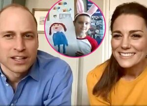 Watch: Prince William & Kate Middleton Video Chat With Essential Worker's Children