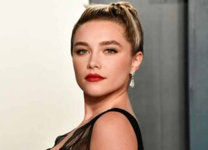 BEVERLY HILLS, CALIFORNIA - FEBRUARY 09: Florence Pugh attends the 2020 Vanity Fair Oscar Party hosted by Radhika Jones at Wallis Annenberg Center for the Performing Arts on February 09, 2020 in Beverly Hills, California.