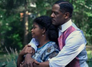 Octavia Spencer & Blair Underwood in 'Self Made'