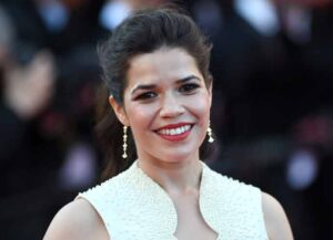 "CANNES, FRANCE - MAY 16: Actress America Ferrera attends the ""How To Train Your Dragon 2"" premiere during the 67th Annual Cannes Film Festival on May 16, 2014 in Cannes, France."