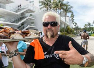 MIAMI, FL - JUNE 30: Guy Fieri attends the Sprint IWXIV BBQ Beach Bash and Concert during Irie Weekend 2018 at the Fontainebleau Miami Beach on June 30, 2018 in Miami, Florida.