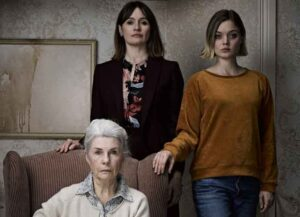 Emily Mortimer, Robyn Nevin and Bella Heathcote in 'Relic'