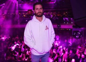 LAS VEGAS, NV - MARCH 23: Scott Disick hosts at JEWEL Nightclub at ARIA Resort & Casino on March 23, 2018 in Las Vegas, Nevada.