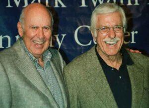Carl Reiner with Dick Van Dyke