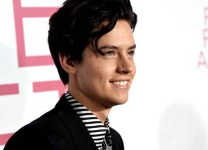"""LOS ANGELES, CALIFORNIA - MARCH 07: Cole Sprouse arrives at the premiere of CBS Films' """"Five Feet Apart"""" at the Fox Bruin Theatre on March 07, 2019 in Los Angeles, California."""