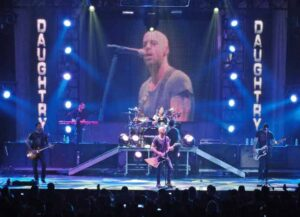 Daughtry performs in Texas