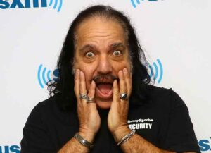 NEW YORK, NY - MARCH 23: Adult film star Ron Jeremy visits the SiriusXM Studios on March 23, 2015 in New York City.