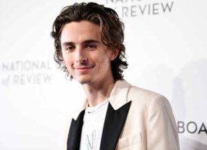 NEW YORK, NEW YORK - JANUARY 08: Timothée Chalamet attends the 2020 National Board Of Review Gala on January 08, 2020 in New York City.
