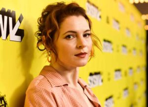 "AUSTIN, TEXAS - MARCH 16: Amy Seimetz attends the ""Pet Sematary"" Premiere 2019 SXSW Conference and Festivals at Paramount Theatre on March 16, 2019 in Austin, Texas."