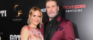 NEW YORK, NY - JUNE 14: Kelly Preston and John Travolta attend the New York premiere of Gotti starring John Travolta, in theaters June 15, 2018 on June 14, 2018.