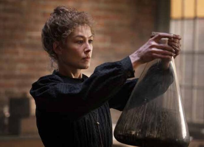 'Radioactive' Movie Review: Marie Curie Biopic Plays It Safe