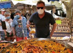 Piers Morgan on vacation in St. Tropez