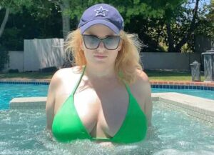 Rebel Wilson Shares Update On Her 'Year Of Health' In Lime Green Bikini [Photos]