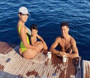Cristiano Ronaldo & Georgina Rodriguez Take Glamorous Yacht Vacation
