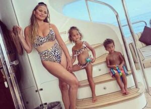 Chrissy Teigen & John Legend Show Off Tropical Family Vacation