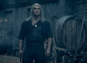 Henry Cavill in 'The Witcher'