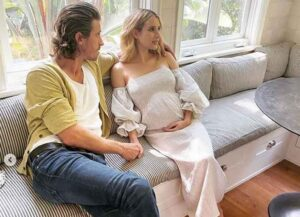 Emma Roberts is expecting her first child — a baby boy — with Garrett Hedlund.
