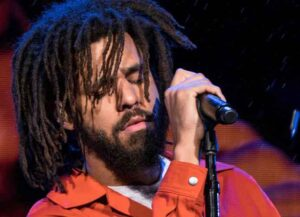 J. Cole performs in 2017