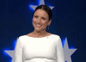 Julia Louis-Dreyfus Hosts Final Night Of Democratic National Convention, Jokes About Trump, Pence & Fox News