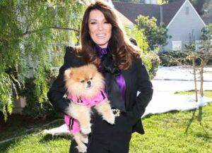 "UNIVERSAL CITY, CALIFORNIA - JANUARY 14: Reality TV Personality Lisa Vanderpump visits Hallmark Channel's ""Home & Family"" at Universal Studios Hollywood on January 14, 2020 in Universal City, California."