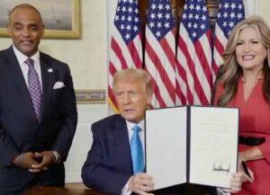 Trump Pardons Jon Ponder, Convicted Of Bank Robbery, During RNC Segment