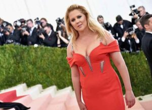 Amy Schumer attends the 2016 Met Gala